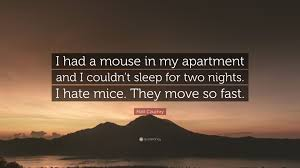 100 Mouse Apartment Matt Czuchry Quote I Had A Mouse In My Apartment And I Couldnt