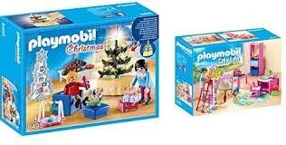 playmobil 9495 spielzeug weihnachtliches wohnzimmer unisex