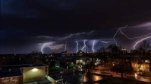 Lightning Storm In Kansas City Missouri