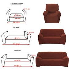 3 Seater Sofa Covers by Us Ship Stretch Chair Sofa Covers 1 2 3 Seater Protector Couch