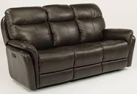 Flexsteel Power Reclining Couch by Flexsteel Reclining Sofa Power Headrests 1653 62ph 360 70