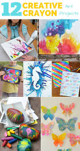 30 Things For Kids To Make Do With Crayons