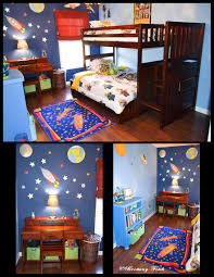 Soccer Themed Bedroom Photography by 15 Fun Space Themed Bedrooms For Boys Rilane We Aspire To