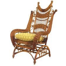 Wicker Rocker Chair – Hiszpanski