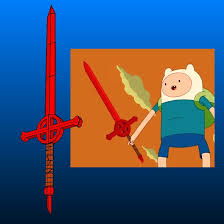 Adventure Time Demon Blood Sword Papercraft