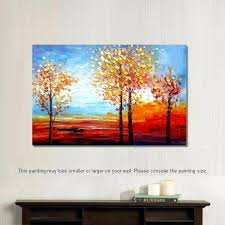 Canvas Painting For Dining Room Oil Sale Landscape Wall Decor Abstract Art Paintings Pain