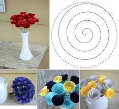 Good Diy Flowers With How To Make Handmade From Fabric Step By