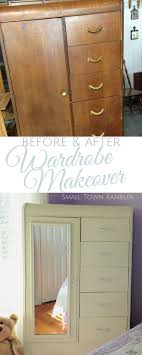 Best 25+ Wardrobe Makeover Ideas On Pinterest | Vintage Wardrobe ... Armoires Walmartcom Pine Wood Wardrobe Armoire From Dutchcrafters Amish Fniture Wardrobes Closets Ikea White French Armoire And Shabby Best 25 Antique Wardrobe Ideas On Pinterest Eclectic Armoires New Portable Bedroom Clothes Closet Storage Shop Shelving Hdware At Lowescom Or Difference Home Design Ideas Industrial Wardrobes Top 3 Styles Of Hgtv