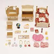calico critters sister s bedroom set international playthings