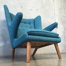 Authentic Hans Wegner Papa Bear Chair vintage danish hans wegner papa bear chair u0026 ottoman u2013 urbanamericana