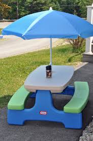 umbrella for little tikes picnic table outdoor patio tables ideas
