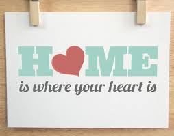 Home Is Truly Where The Heart Resides