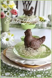 Easter Brunch Table