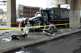 100 Garbage Truck Youtube Truck Hits Car Kills 3yearold Girl Riding In The Backseat