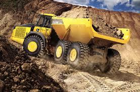100 Articulating Dump Truck John Deere ESeries Articulated S Feature A Load Of New