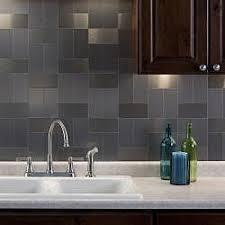 stainless steel backsplash tiles peel and stick interior design