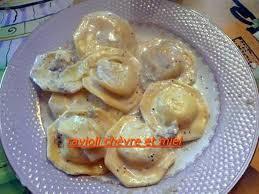 recette de ravioli chevre et miel