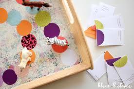 DIY Tray Board Game Via Bluetandclover