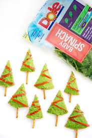 Christmas Tree Preservative Recipe Sugar by Dole Spinach Hummus U0026 Pita Christmas Trees Giveaway Rabbit