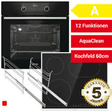 details zu gorenje black set bos backofen kochfeld backofenset herdset küche