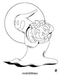 Ghostbusters Coloring Sheets Ghost Pumpkin Page Source Vat Free Cute Full Size