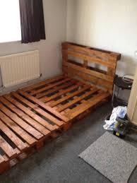 Bedding Pallet Bed Frame For Sale