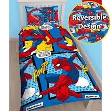 Spiderman Twin Bedding by Marvel Spiderman Duvet Cover Sets Kids Boys Bedding U2013 Junior