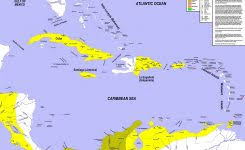 Greater Antilles Map Quiz West Indies Political Pertaining To 3750 X 3111