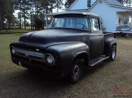 100 56 Ford Truck 19 F100 BIG WINDOW FORD TRUCK PROJECT 535455