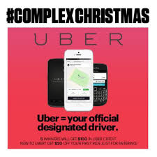 ComplexChristmas Win 100 In Uber Ride Credit Complex