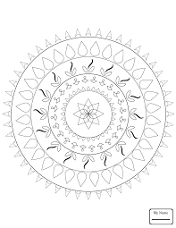 Arts Culture Celtic Tree Of Life Mandala Coloring Pages For Kids