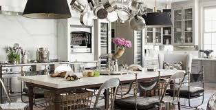 Glam Farmhouse Kitchen Interiors
