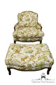 French Provincial Accent Chair by High End Used Furniture Sam Moore Country French Provincial