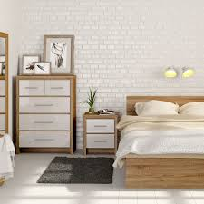 Decorating Ideas Nonsensical White Wood Bedroom Furniture Glass Uk Oak With Regard
