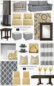 Living Room Gray And Yellow Custom Designs On The Best Benjamin Moore Paint Colours For A