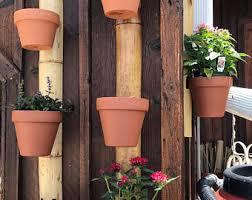Bamboo Flower Pot Hanger 3 Pots