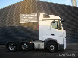 100 6 Wheel Mercedes Truck Benz ACTROS 2545 Bluetec Aut_truck Tractor Units Year