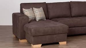 wohnlandschaft trento ecksofa sofa braun beige 299x215