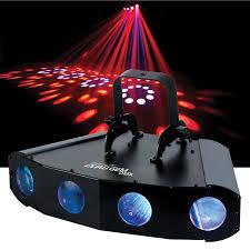 ADJ American DJ Quad Gem DMX Moonflower LED Light