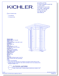 CAD Drawings KichlerR Lighting Model 49159SS