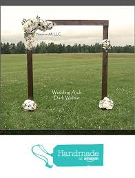 Rustic Country Indoor Or Outdoor Wedding Arch From Natures All LLC