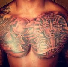 Sphinx Pyramid Tattoo