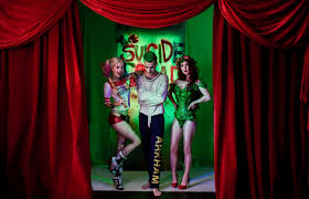 Lush Decor Velvet Curtains by The Sucide Squad In Movie Theaters Lushes Curtains Velvet Drapes