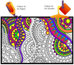 Click N Colour In On Paper