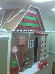 Cubicle Decoration Ideas For Christmas by Ideas For Office Christmas Decorating Contest Thriftyfun