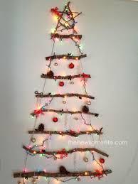 Diy Driftwood Twig Christmas Tree