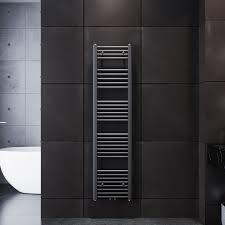 badheizkörper heizkörper handtuchtrockner handtuchwärmer 1600 400mm anthrazit