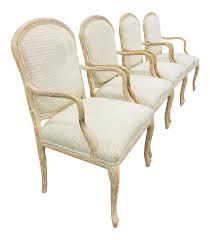 100 Roche Bois Furniture Vintage Serge Faux Arm Chairs