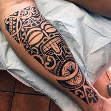 Tribal Tattoo Designs For Legs
