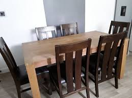 100 Large Dining Table With Chairs Dining Table With 6 Chairs In Bridlington East Yorkshire
